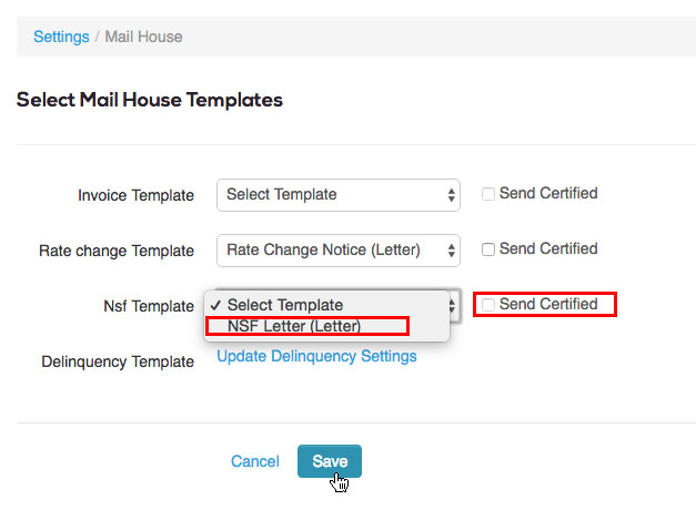 Using Mail House – storEDGE