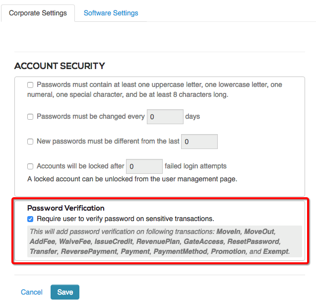 User Management and Access – storEDGE